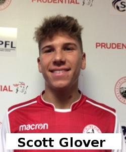 Midfielder, age 18